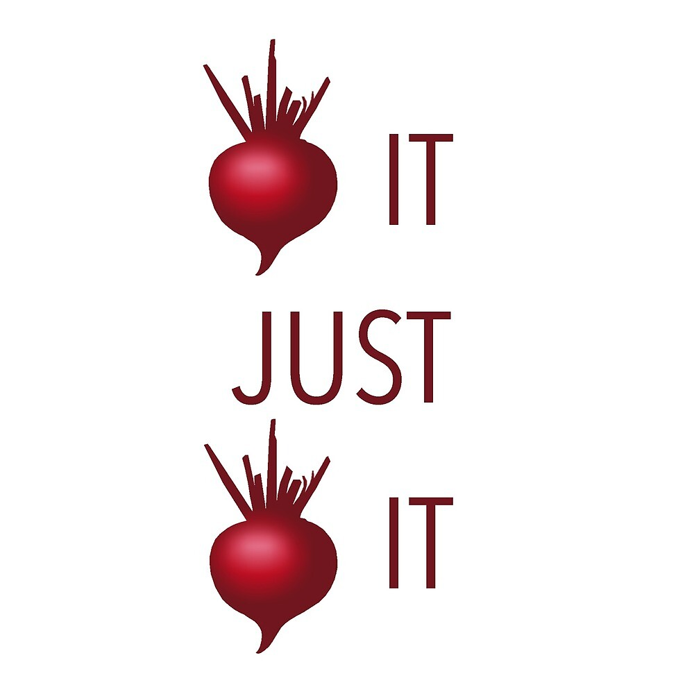 Beet It Pun Design  by fanta8