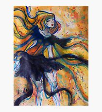 Ribbon Lady Photographic Print