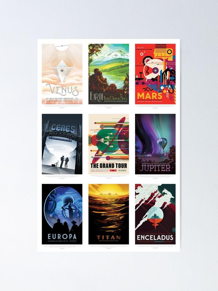 """Poster '' VEUILLEZ VOIR MA NOUVELLE PAGE AMAZON """"ICI"""": https: //www.amazon.com/s/ref=w_bl_sl_s_ap_web_7141123011? Ie = UTF8 & node = 7141123011 & field-brandtextbin = Sci-Fi + Space + Tourism. *': autre vue"""