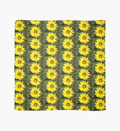 Yellow flower Scarf