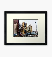Panorama 2413: 1211 Callowhill St Framed Print