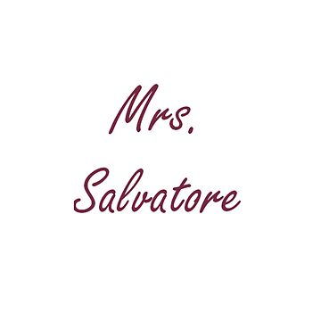 Mrs. Salvatore by PandoraDiAngelo
