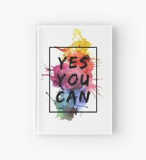 You CAN (White) Hardcover Journal