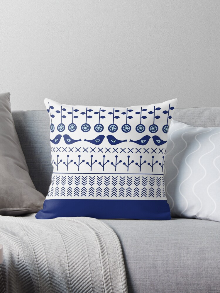 Scandinavian Design Throw Pillows :