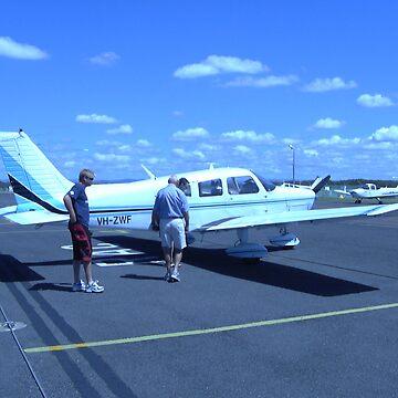 Plane Trip by bribiedamo