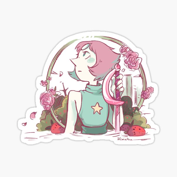Strawberry Field Sticker