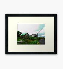 Irish Barn #2, Donegal, Ireland Framed Print