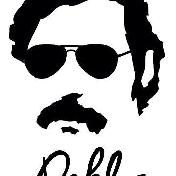 Pablo Escobar Sunglasses by jnevinsdesigns