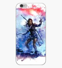 Tomb Raider Painting iPhone Case