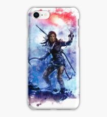 Tomb Raider Painting iPhone Case/Skin