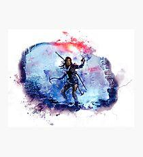 Tomb Raider Painting Photographic Print