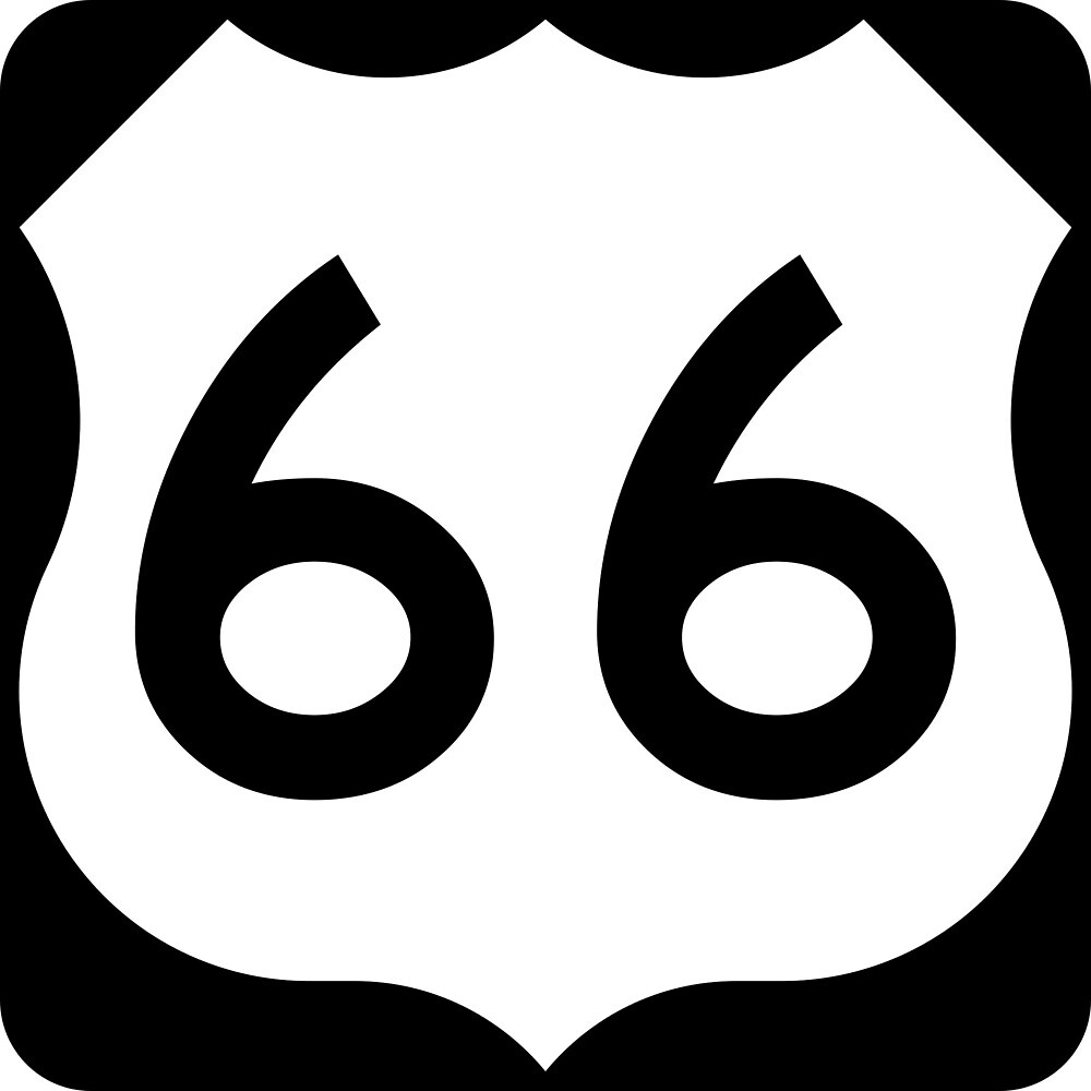 Route 66  by ofmany