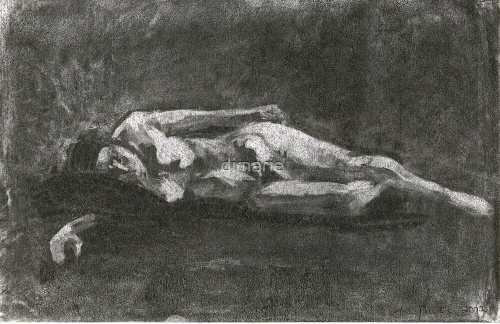 The Sleeping Nude by dimarie