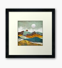 Night Fog Framed Print