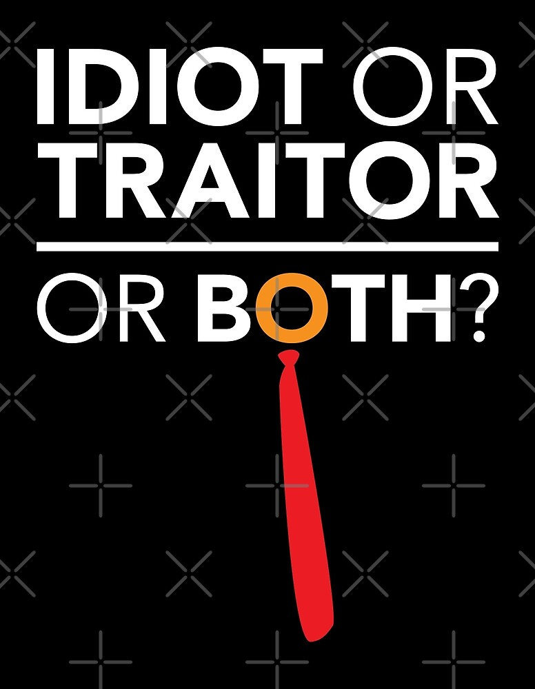 Idiot, Traitor or both by depresident