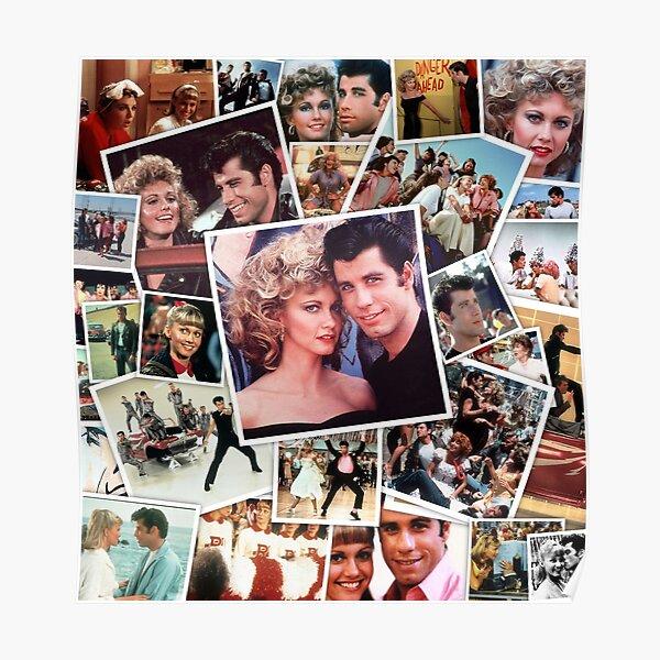 Grease / Brillantine Poster