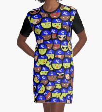 Ladies united Graphic T-Shirt Dress