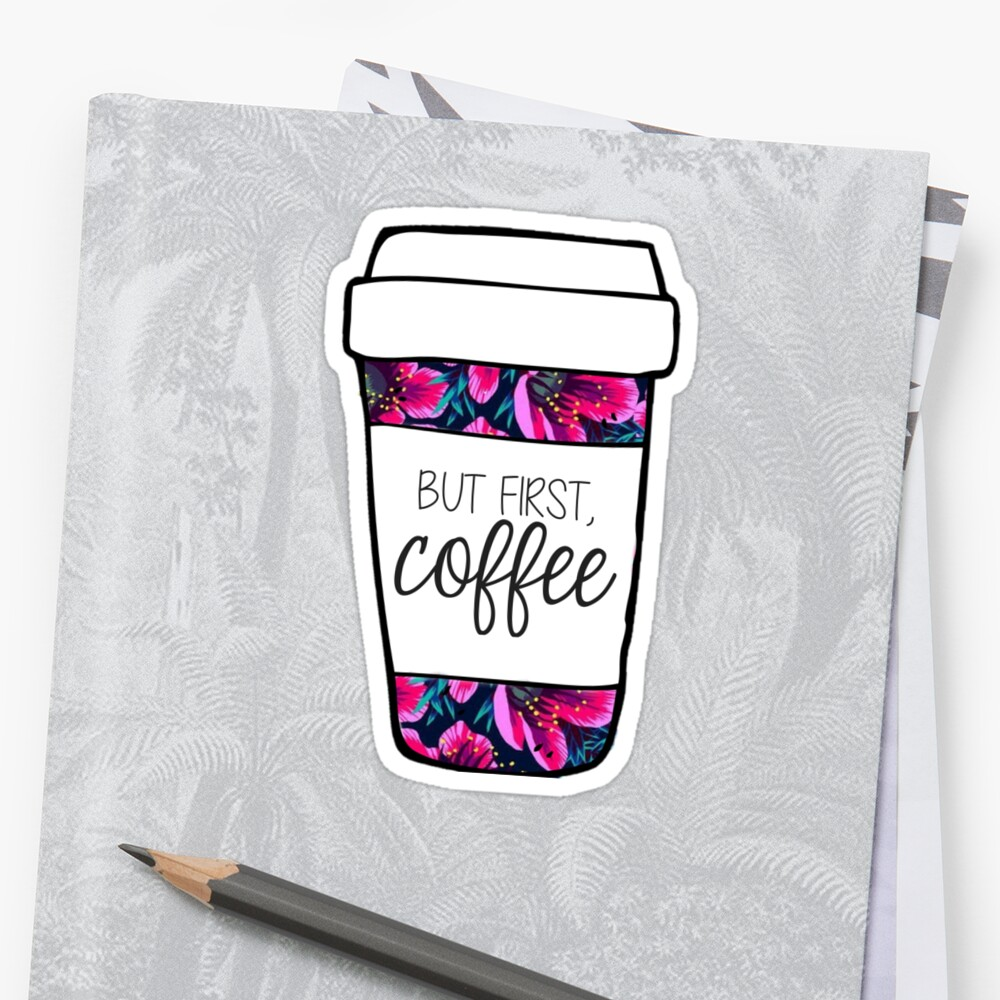 But First, Coffee Tropical Mug by annmariestowe