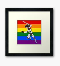 Keith - Voltron Framed Print