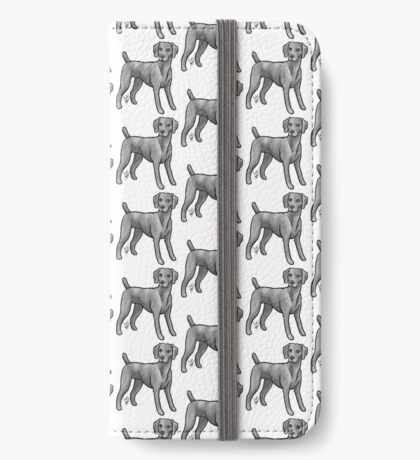 Weimaraner iPhone Wallet