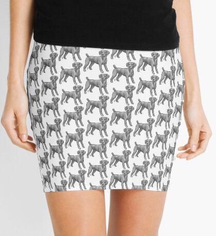 Weimaraner Mini Skirt