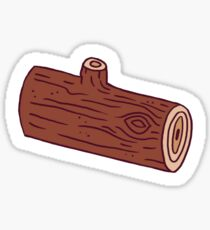 Logs, Logs, Logs! Sticker