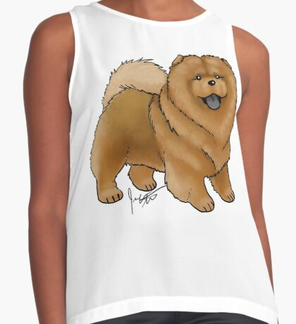 Chow Chow Contrast Tank