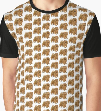 Chow Chow Graphic T-Shirt