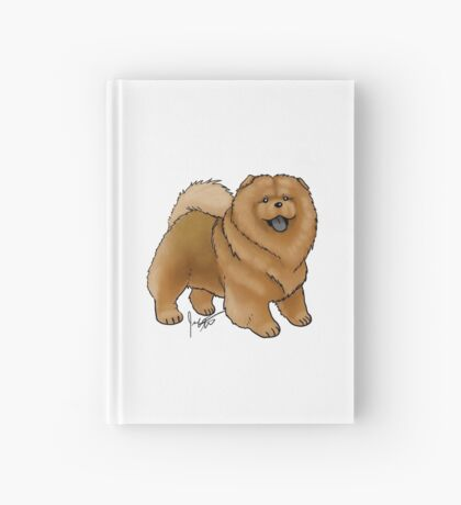 Chow Chow Hardcover Journal