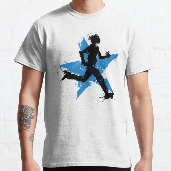 Männlicher Läufer mit Stern Classic T-Shirt
