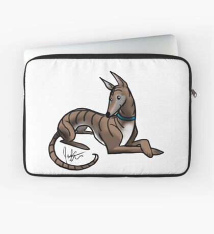 Greyhound - Dark Brindle Laptop Sleeve