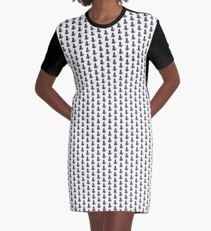 Lab Mix Graphic T-Shirt Dress