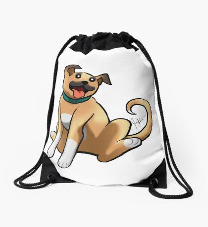 Boxer Mix Drawstring Bag