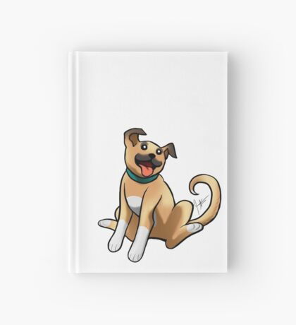 Boxer Mix Hardcover Journal