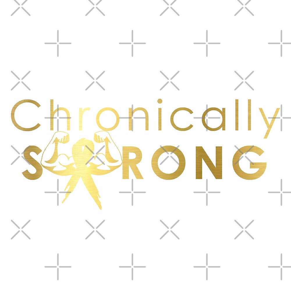 Chronically Strong - Gold Effect by Nisa Katz