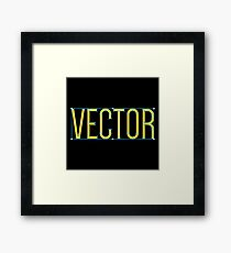 VECTOR Framed Print