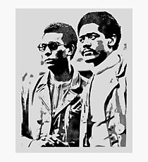 Stokely Carmichael and Bobby Seale Photographic Print