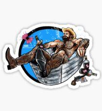 Bullethole Cowboy 2: Saddle Soap Up Sticker