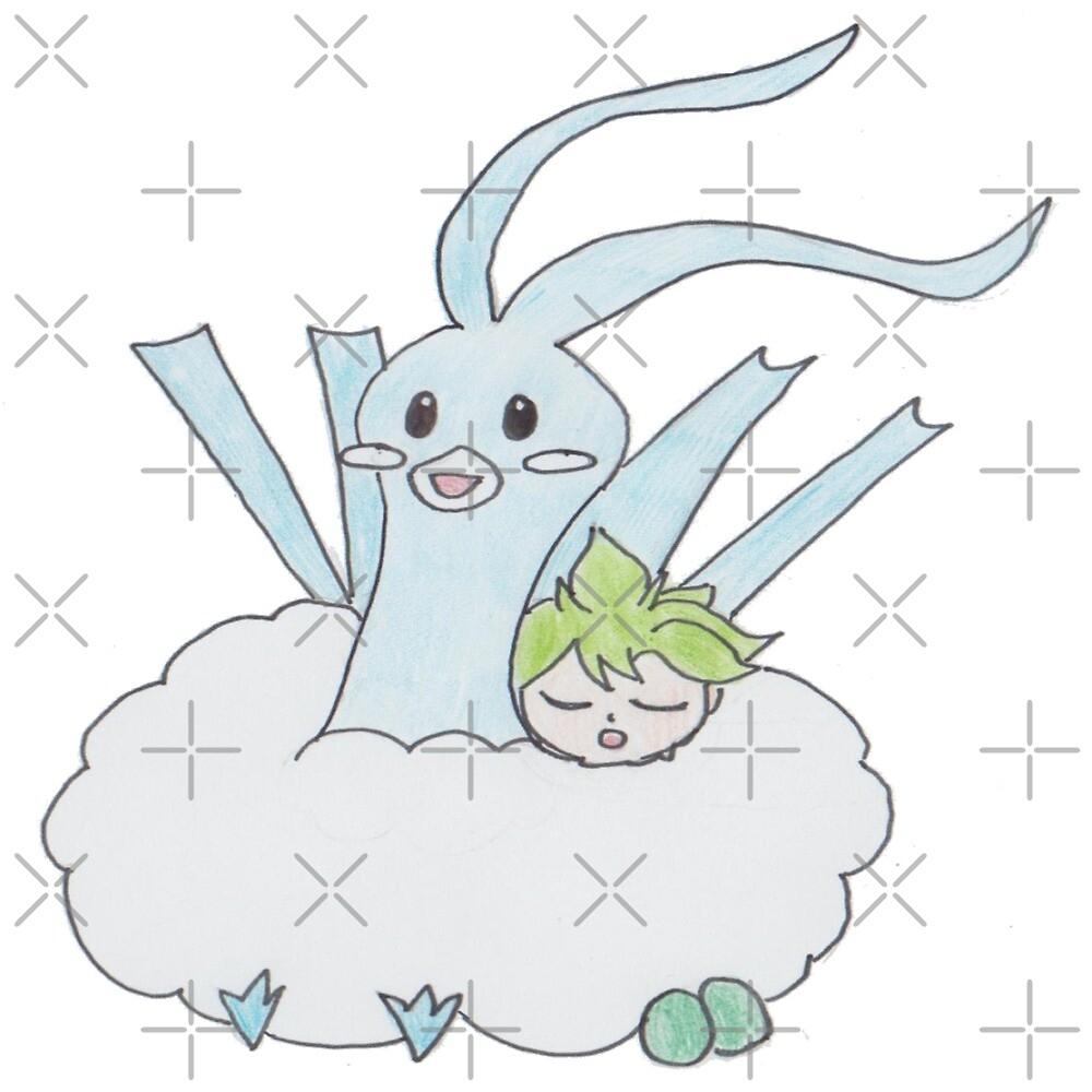 Fluffy Nap by Zeldamushroom21