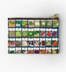 Vegetable seeds pattern Studio Pouch