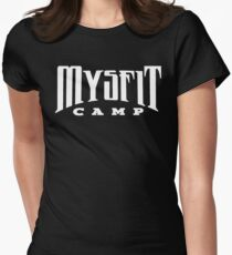 Mysfit Camp v2 Women's Fitted T-Shirt