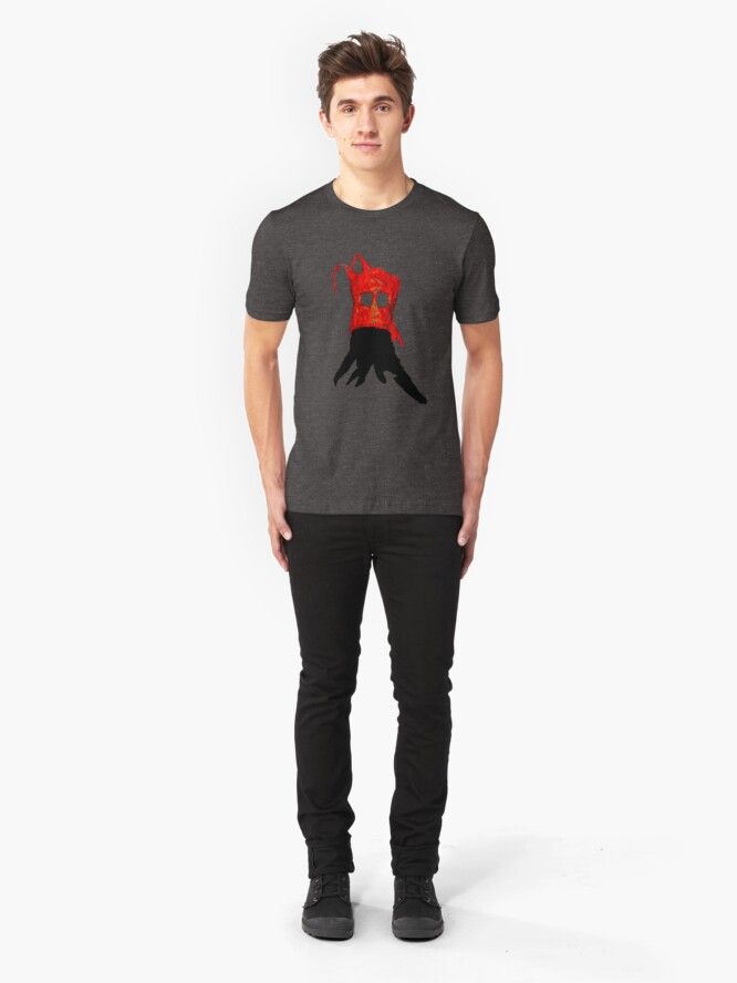 Alternate view of The Broken Face Slim Fit T-Shirt