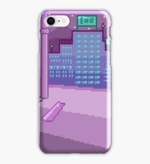 Pixelart - Night in the City iPhone Case/Skin