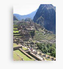 Inca Ruins Canvas Print