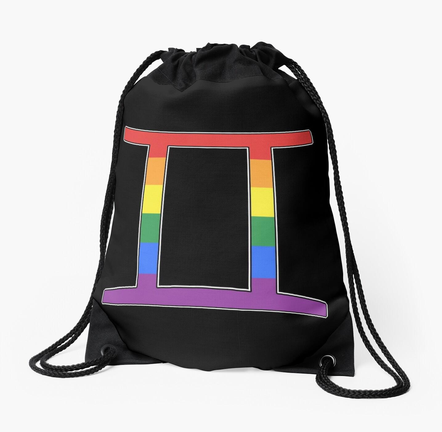 Rainbow Gemini by porcupride