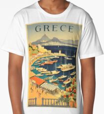 Greece Long T-Shirt
