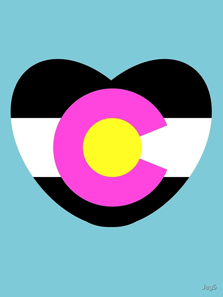 Colorado Love - Black & Pink by Jay5