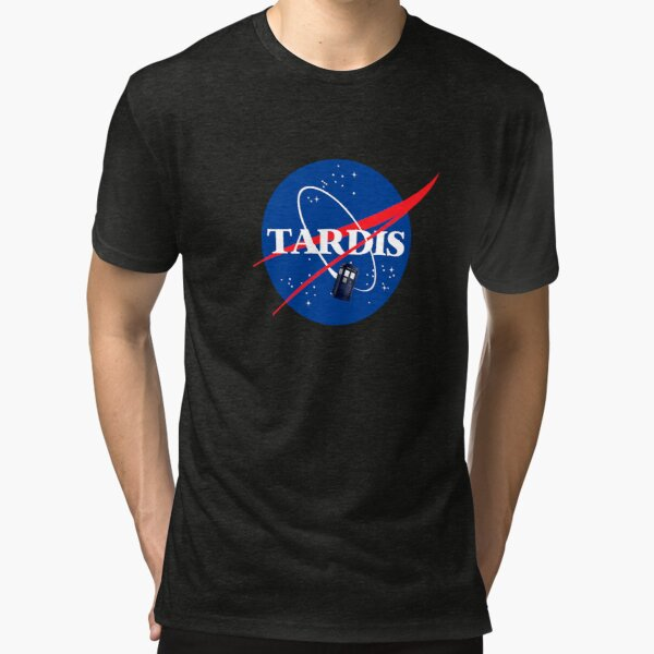Nasa Tardis Tri-blend T-Shirt