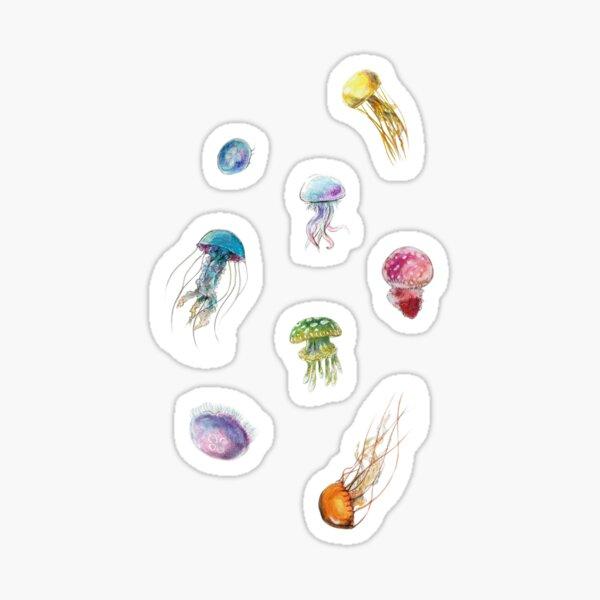~ Watercolor Jellyfish ~ Sticker