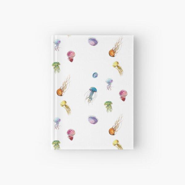~ Watercolor Jellyfish ~ Hardcover Journal